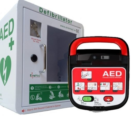 A15 AED with indoor Cabinet Package