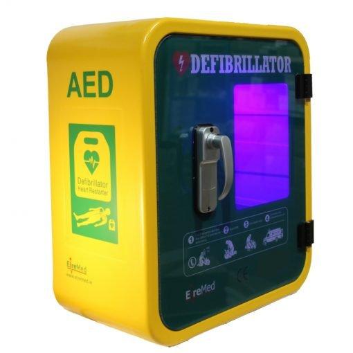 Durafib outdoor defibrillator storage